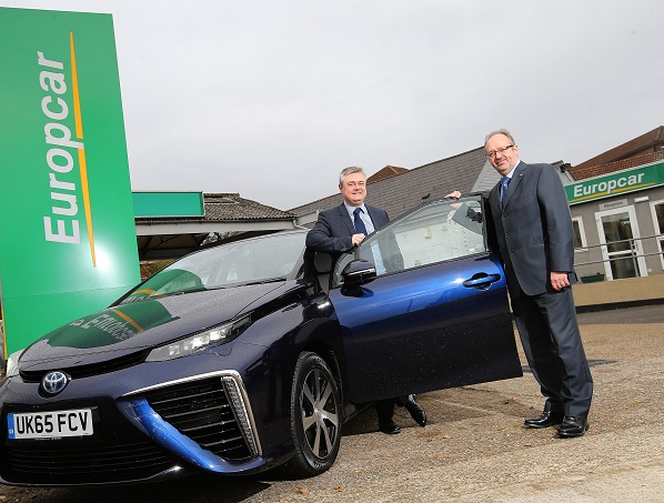 Europcar Uk Adds Toyota Mirai To Fleet News Breaking Travel News