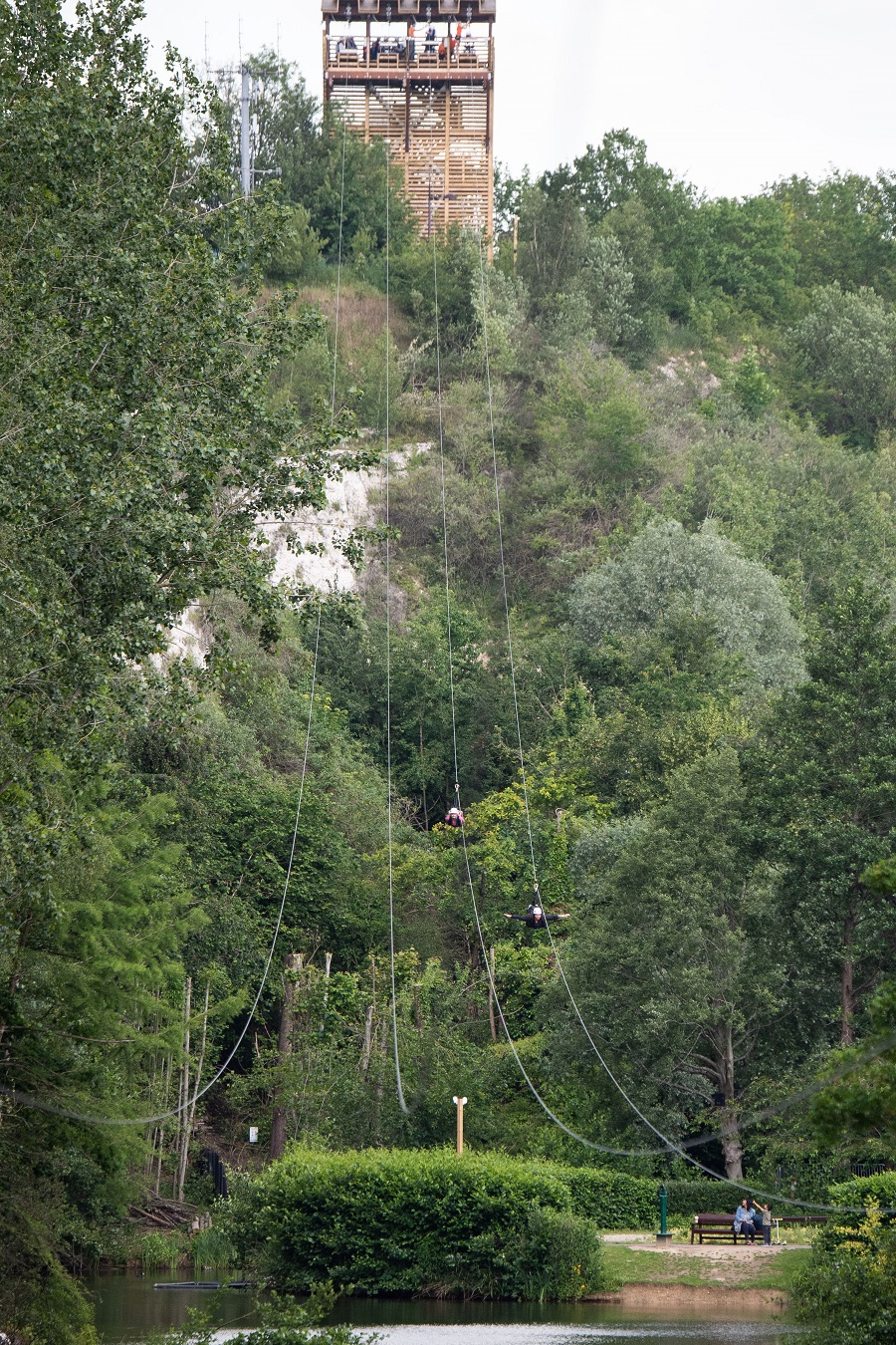 Skywire at Hangloose Adventure – Bluewater