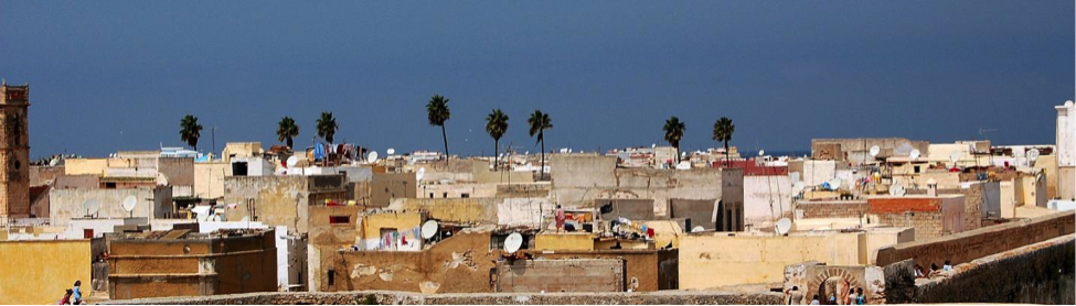 View on the medina of Casablanca in Morocco. Credit: Pawel Ryszawa