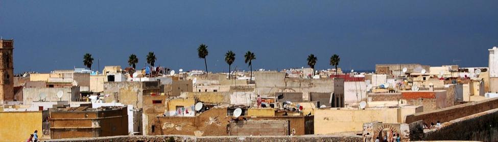 View on the medina of Casablanca in Morocco. Credit: Pawel Ryszawa