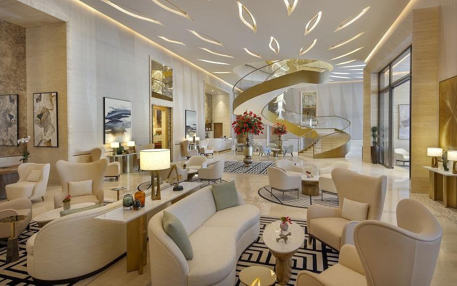 The St. Regis Dubai, The Palm Reception and Lounge