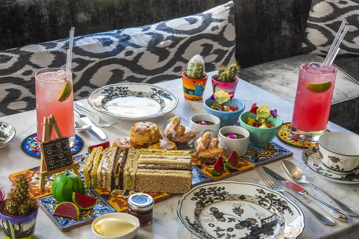 The Franklin launches Frida Kahlo-inspired afternoon tea