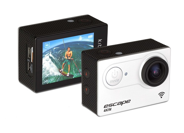 KitVision launches Escape 4KW action camera