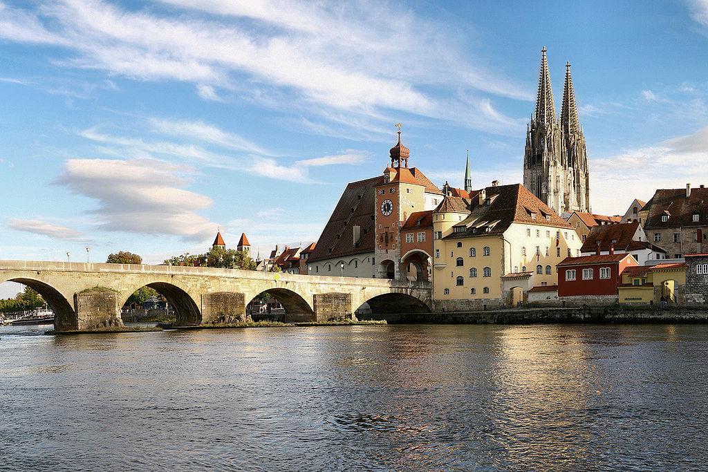 رود دانوب در کشور آلمان